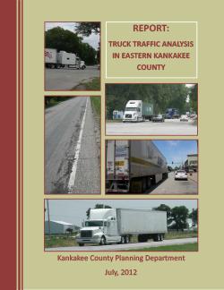 Truck Traffic Study