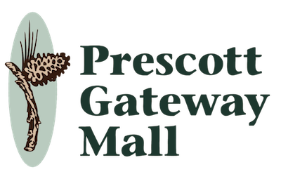 Prescott Gateway Mall with link to homepage