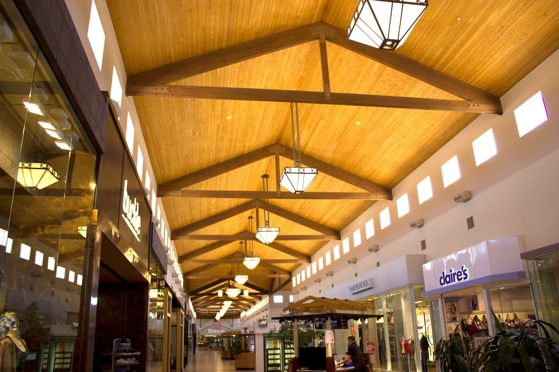 interior of Prescott Gateway Mall