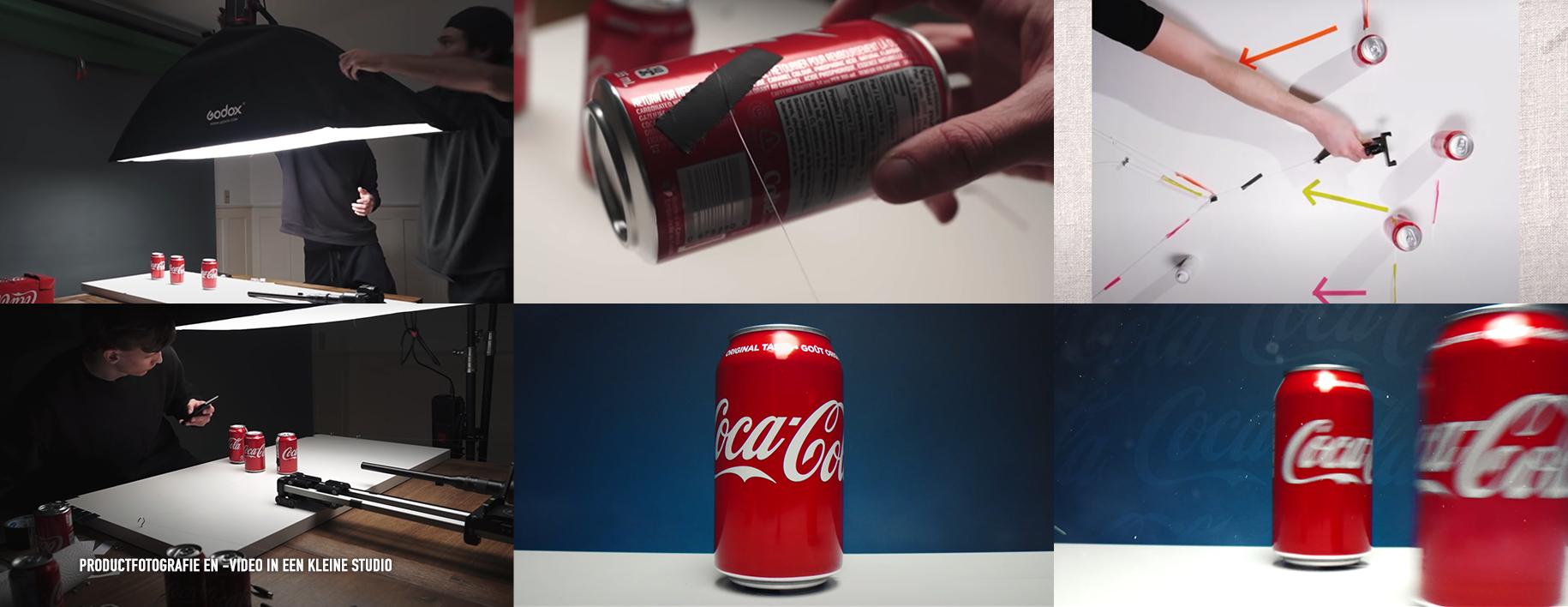 Productfotografie en -video in een kleine studio