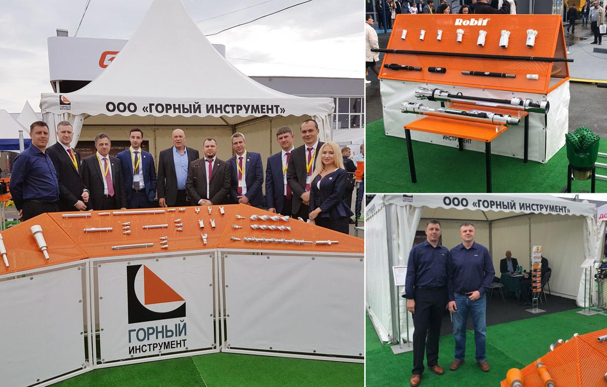 Robit at Ugol Rossii & Mining 2018