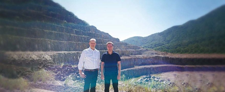 Taking ground in the Brazilian quarry market