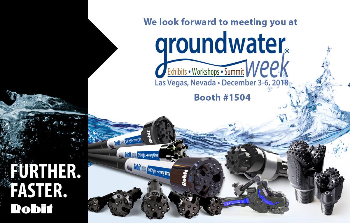 Welcome to Las Vegas – Grounwater Weeks, 3-6 December!