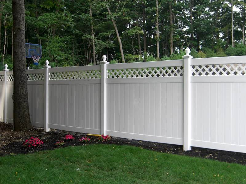 PVC Fence installed in Southampton NY