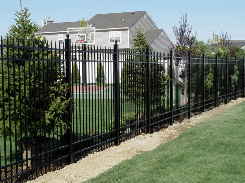 Aluminum Fence installed in East Hampton NY