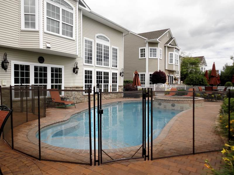 Guardian Pool Fence installed in Southampton NY