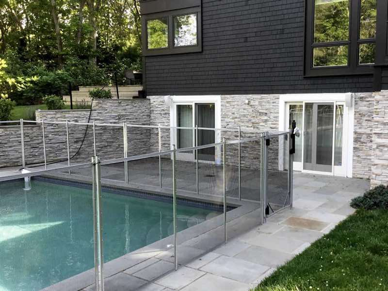 Guardian Pool Fence installed in Southampton New York