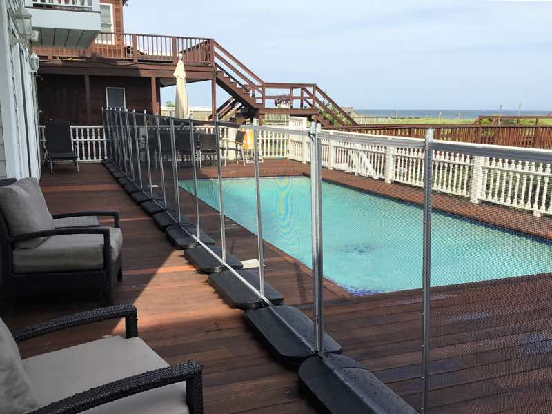 Guardian Pool Fence installed in East Hampton New York