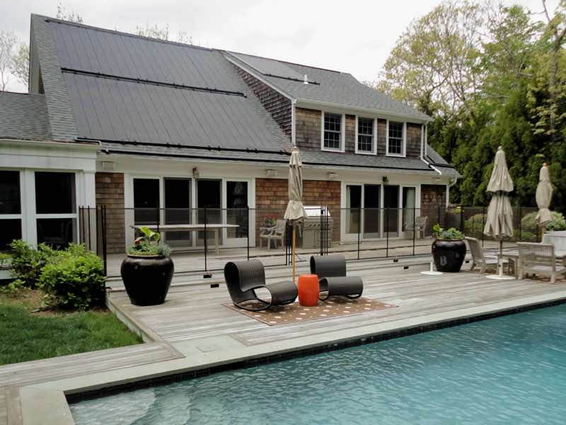 Guardian Pool Fence installed in Huntington New York