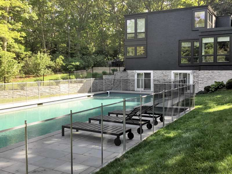Guardian Removable Pool Fence installed in Southampton NY