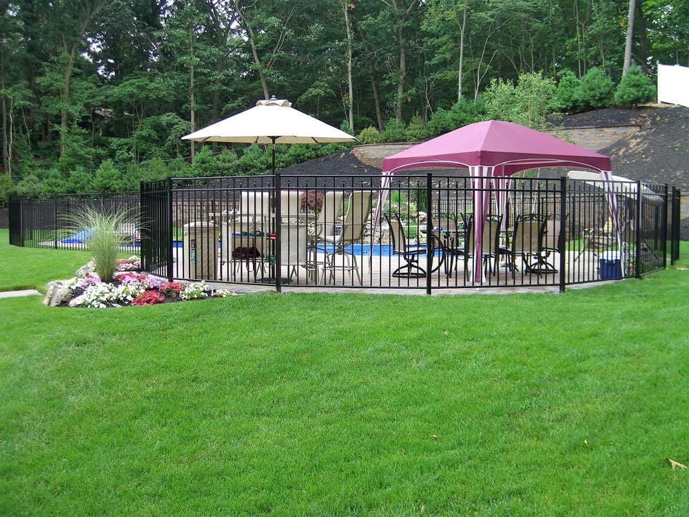 Aluminum Estate Fence in Dix Hills, NY