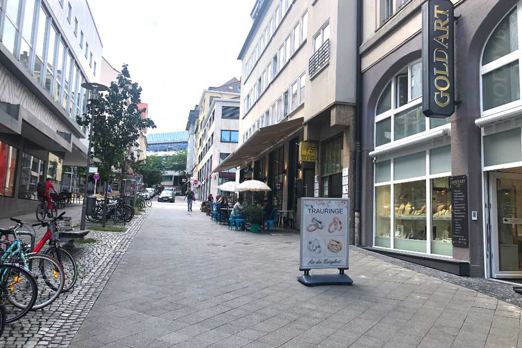 Goldart Kassel Gebäude