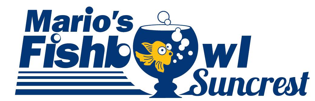 Mario's Fishbowl Logo