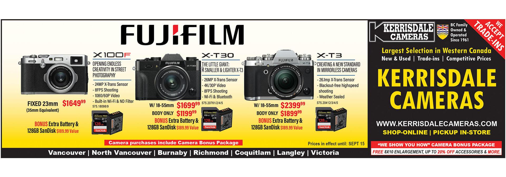 Current Ads   Kerrisdale Cameras
