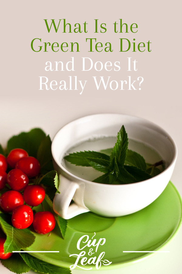 How does diet green tea work