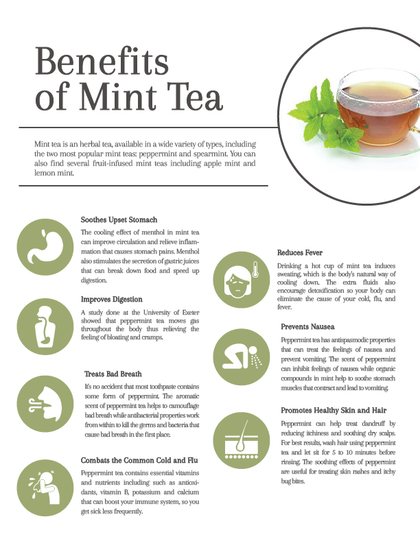 9 Healing, Soothing Benefits of Mint Tea - Cup & Leaf