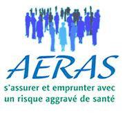 Logo de la convention AERAS : s'assurer et emprunter avec un risque aggravé de santé