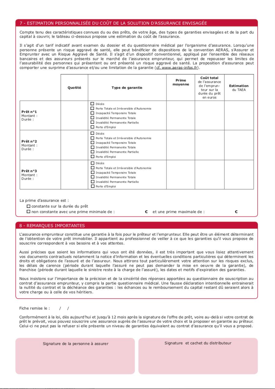 Exemple d'une fiche standardisée d'information page 4