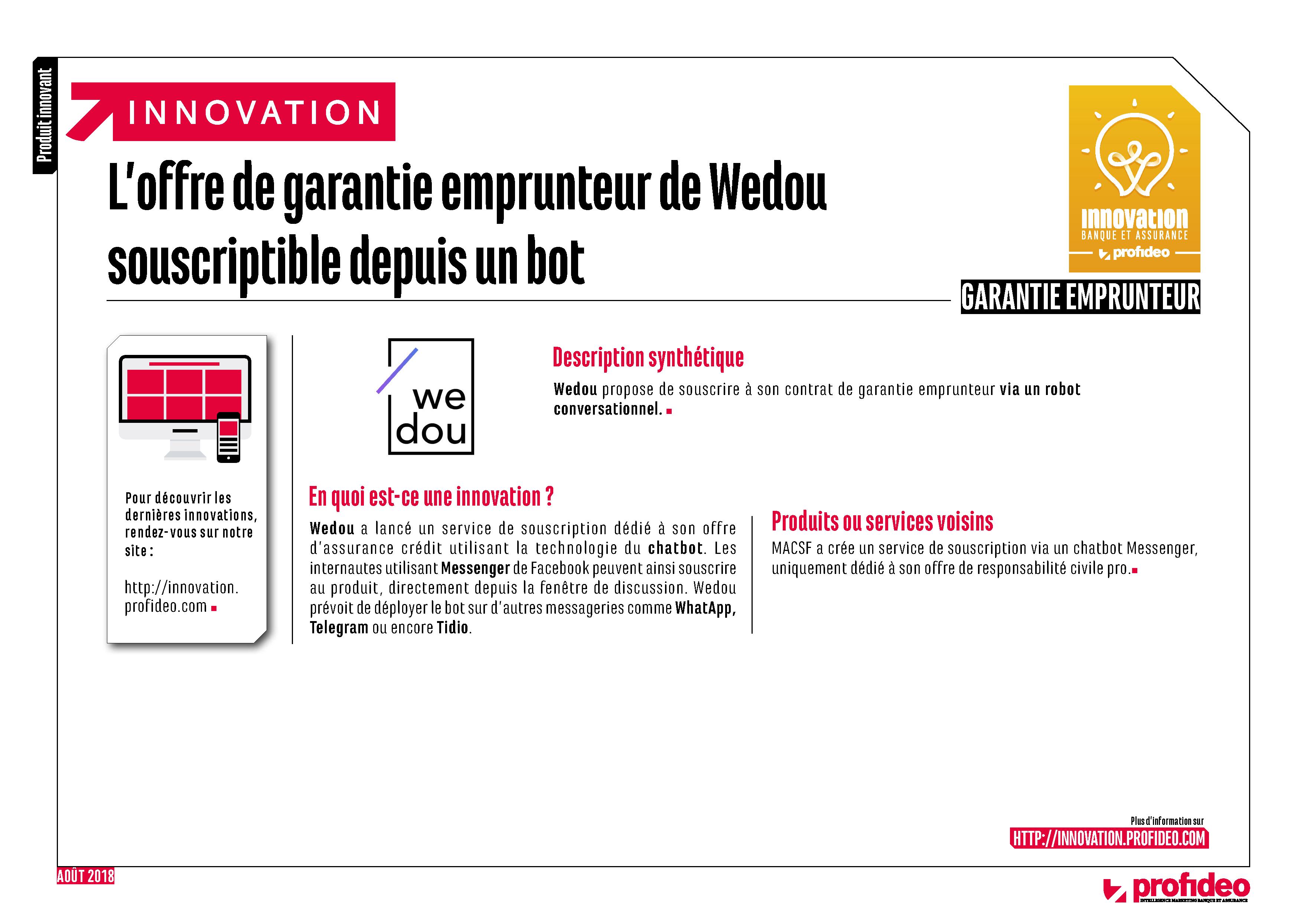 Wedou reçoit le prix de l'innovation