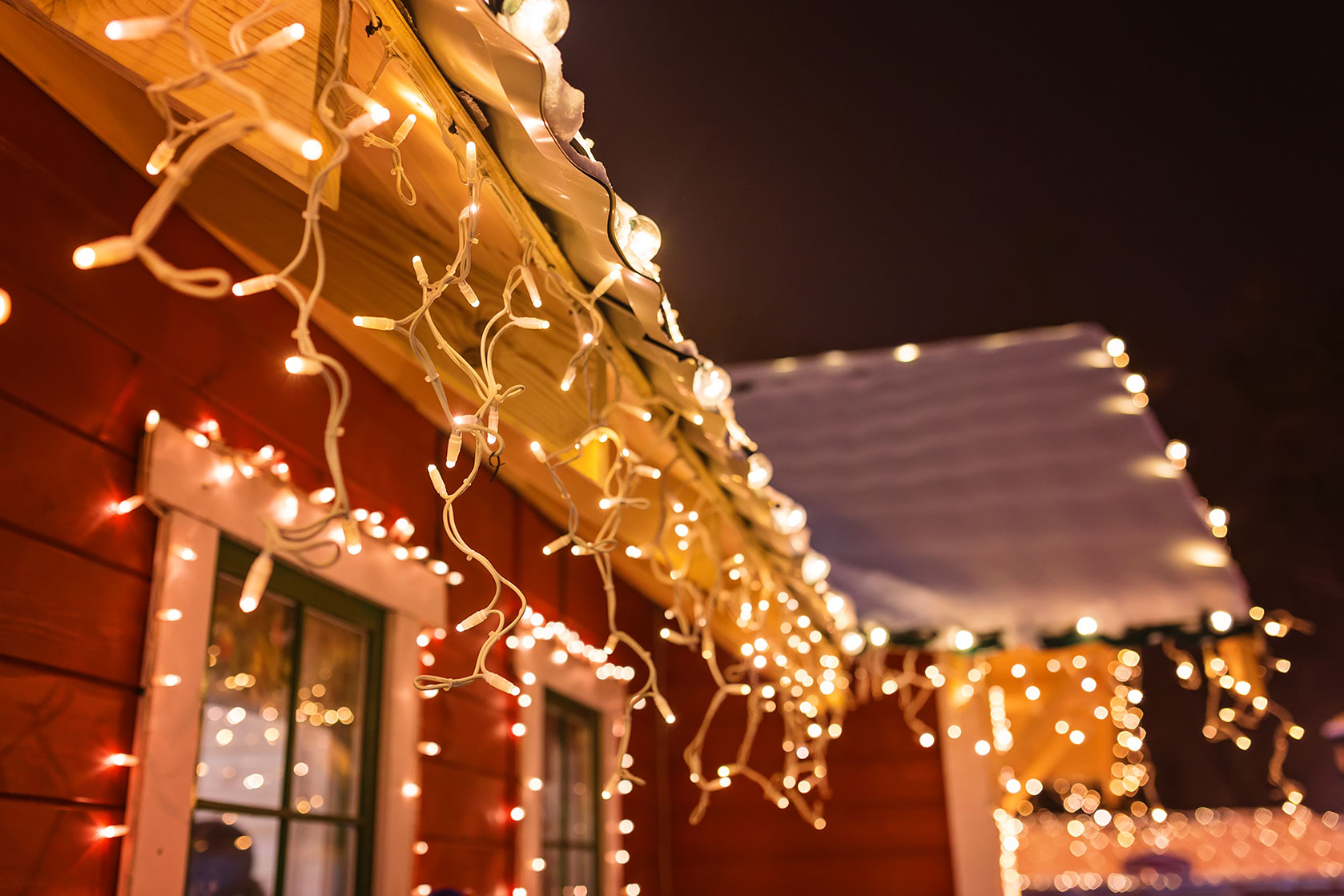 Custom-made Christmas light installation in Evansville, IN