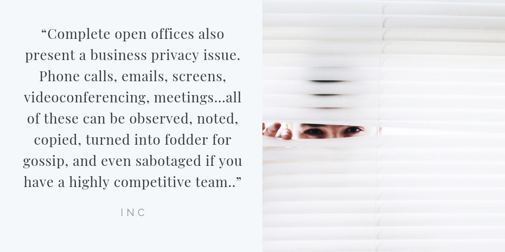 office privacy quote