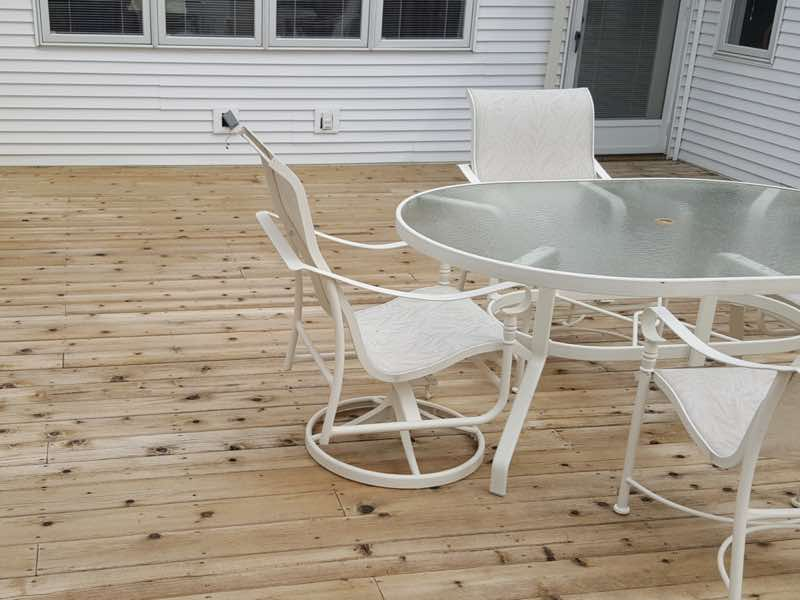 Deck Cleaning in Madison WI