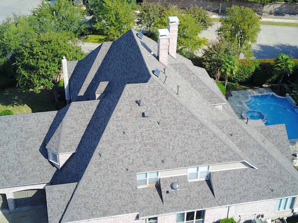 Gray Asphalt Roof