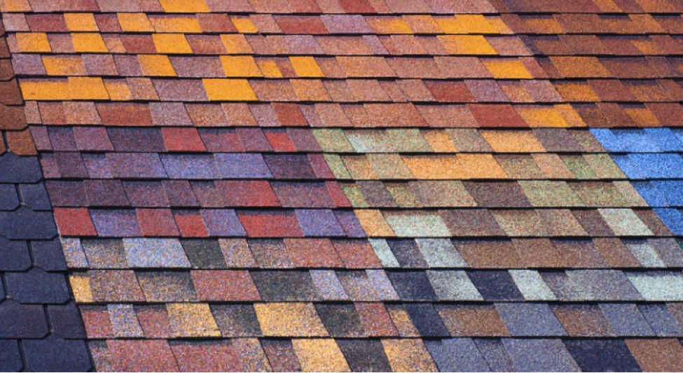 Colored Asphalt Roof
