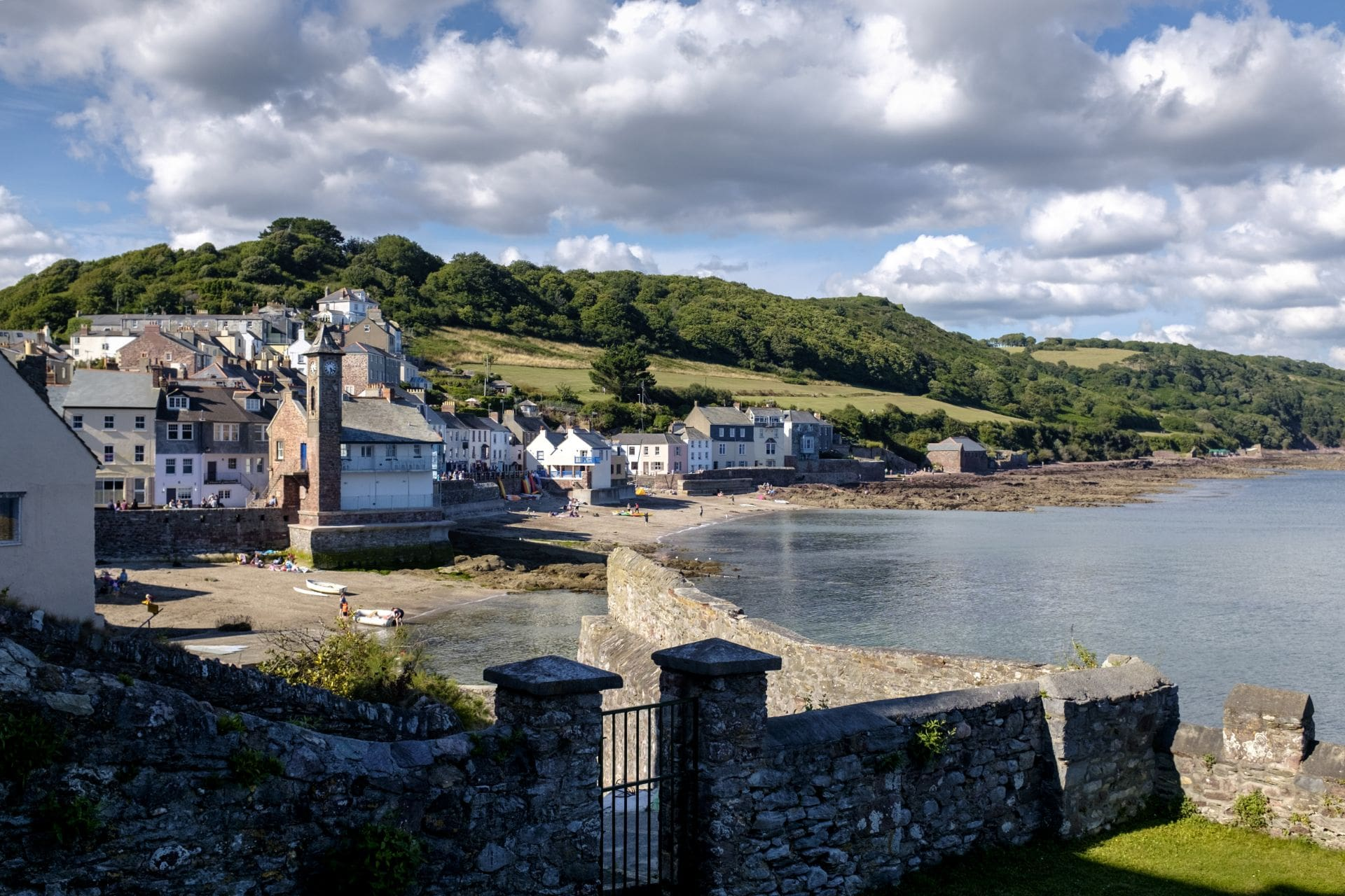 View of Kingsand from Garrett Street Cawsand