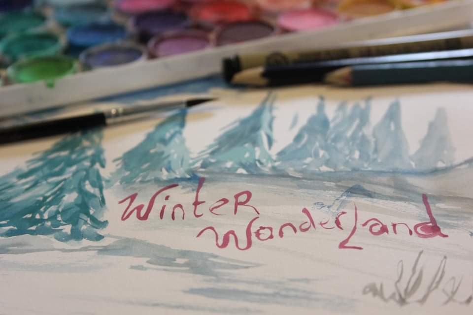Sketchbook Social: Winter Wonderland