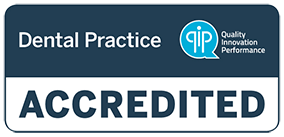 QIP Accredited Dental Practice logo