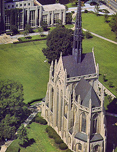 Aerial View of Heinz Memorial Chapel