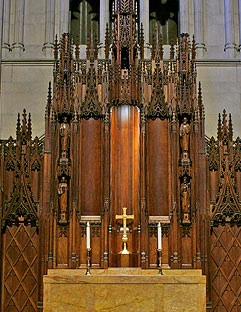 The Altar and Reredos