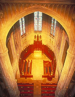 A View of the Chancel from the Tuba Chamber