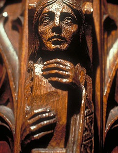 Pulpit Carving