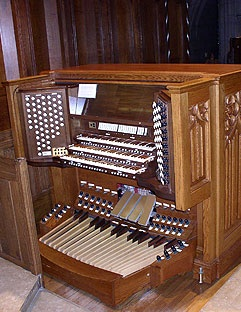 Reuter Organ, Opus 2176, Main Console