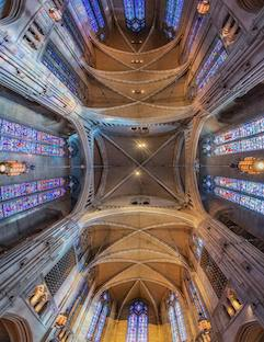 Chapel Ceiling by Dave DiCello