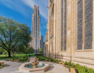 The Heinz Chapel Garden