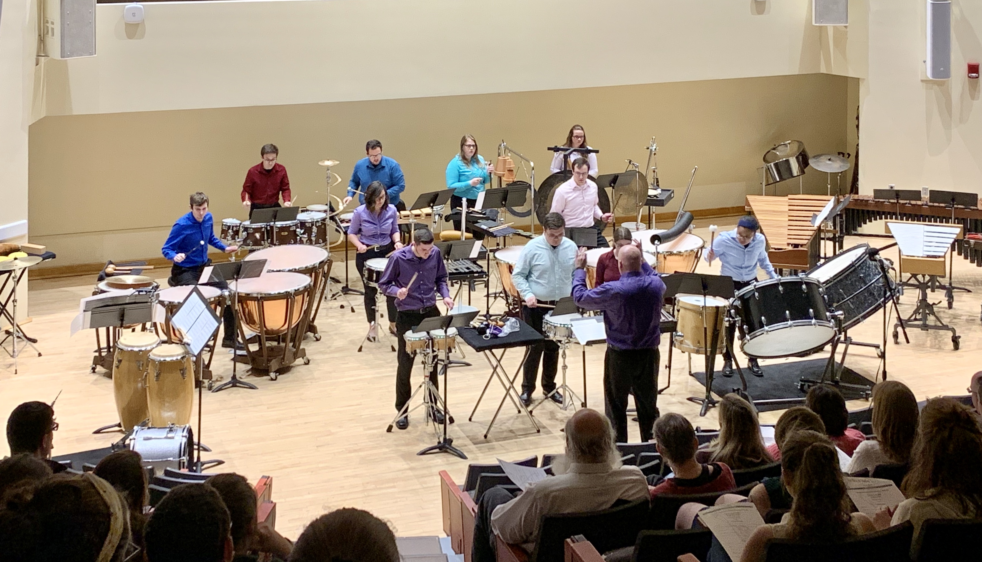 Slippery Rock University Percussion Ensemble
