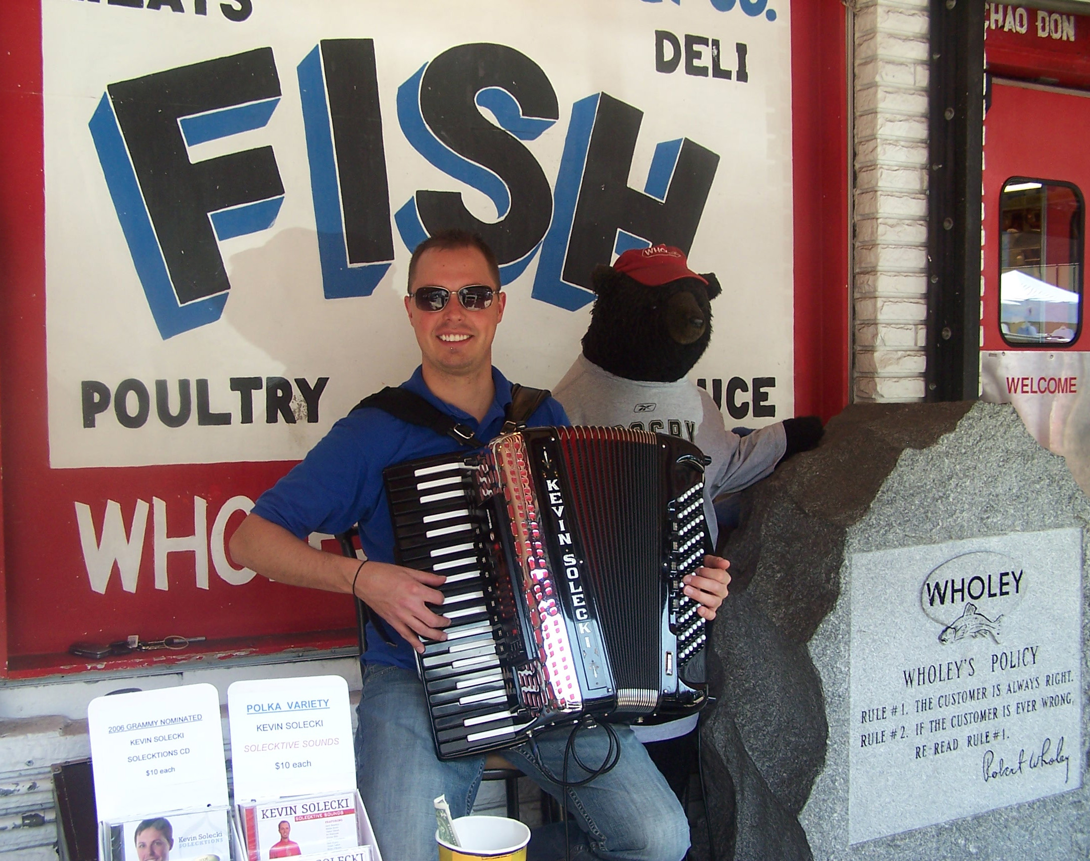 Kevin Solecki, Accordion