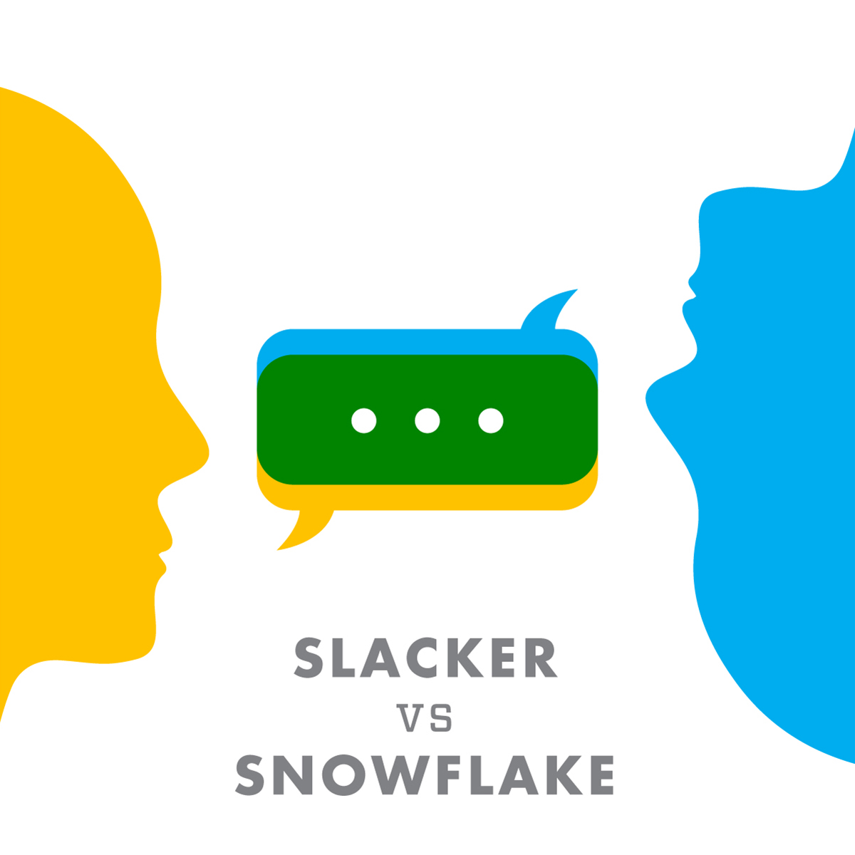 A Slacker And A Snowflake Walk Into A Bar... Graphic