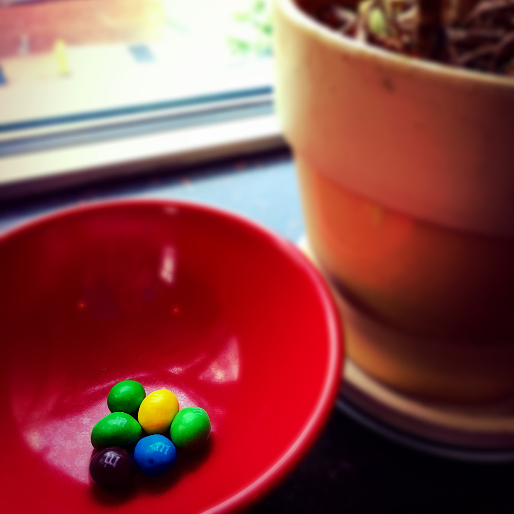 Image with candy in bowl
