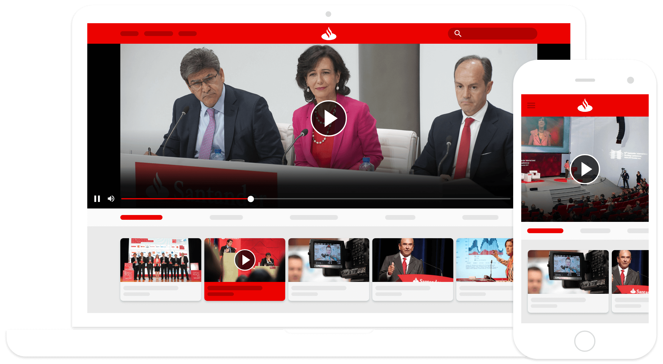 Administra y Comparte videos de tu Empresa