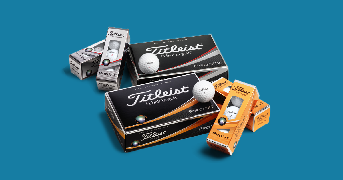 Selection of Titleist Balls Pro V1 Pro V1x