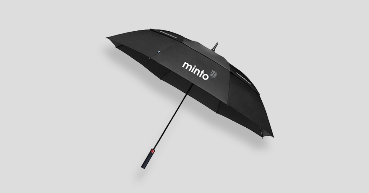Minto Brand Golf Umbrella