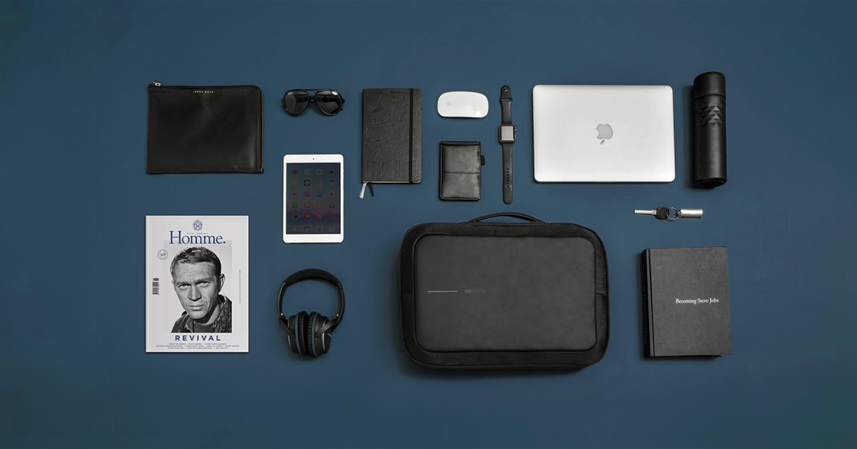 Bobby Bizz Backpack Flatlay