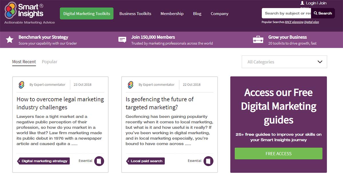 Smart Insights Home Screenshot