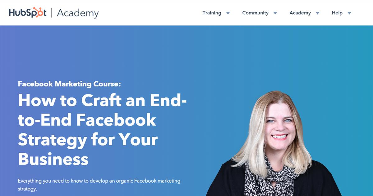 Hubspot Academy Home Screenshot