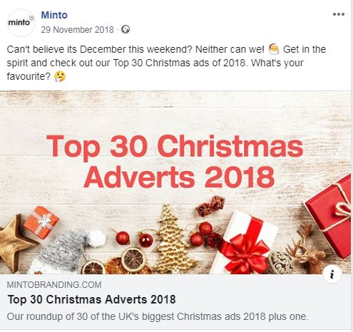 Christmas 2018 Adverts