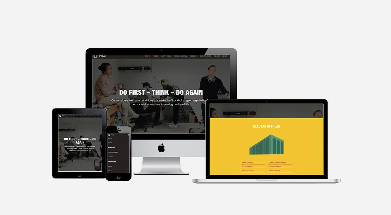 Ny webbplats till Openlab